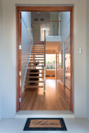 Stairway to failure use feng shui to fix front doors that for Garage feng shui