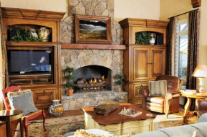 Feng Shui Family -Fireplace