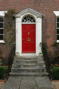 Feng Shui Red Door