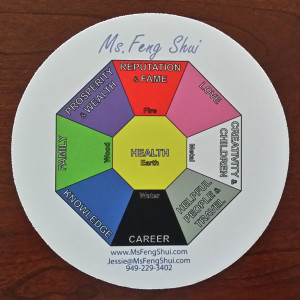 Add harmony and balance to your desk with this handy Bagua mouse pad.  Complete with a description, element and color for each Gua, this mouse pad will help you achieve more health, wealth and luck.