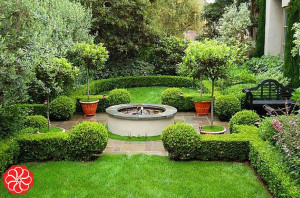 Feng Shui Landscaping for Corner Lots -Fountain