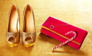 Ms Feng Shui New Red Wallet & Gold Shoes